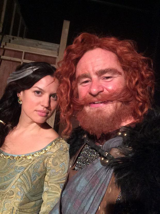 Caroline Morahan and Glenn Keogh in Once Upon A Time