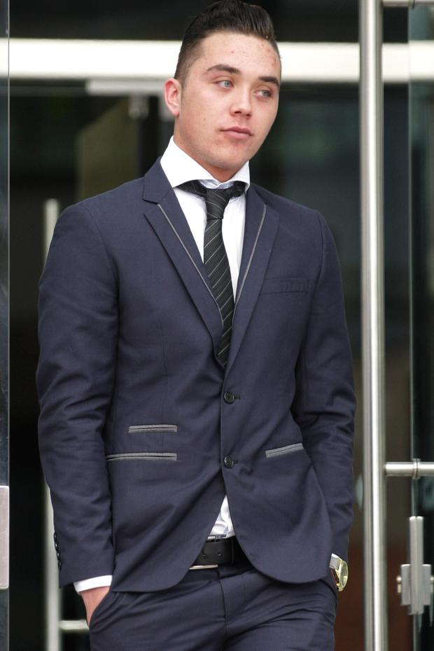 Aaron O'Neill at court