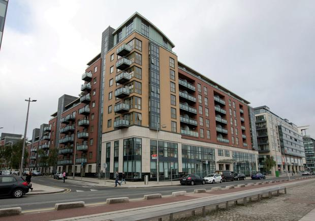 The fire safety notice at Longboat Quay has been extended