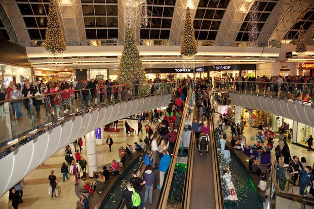 The Black Friday crowds in Blanchardstown