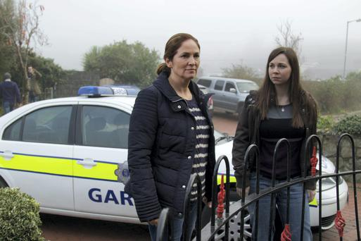 Red Rock writer Kim Revill likes to create strong female characters, such as Gardai Angela Tyrell (Andrea Irvine) and Sharon Cleere (Jane McGrath)