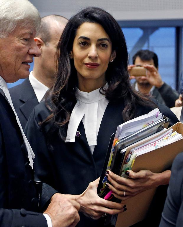 Human rights lawyer Amal Clooney, acting for Ibrahim Halawa has been denied an audience