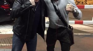 The Edge and Conor McGregor