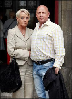 Audrey Mahon with her husband, Dave