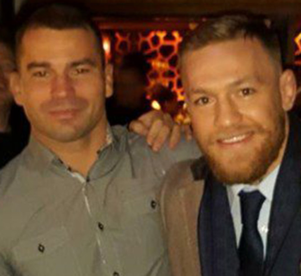Conor and Artem in Krystle on St Stephen's Day Photo: Instagram