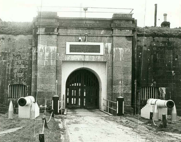 Fort Mitchel Prison on Spike Island in Co Cork