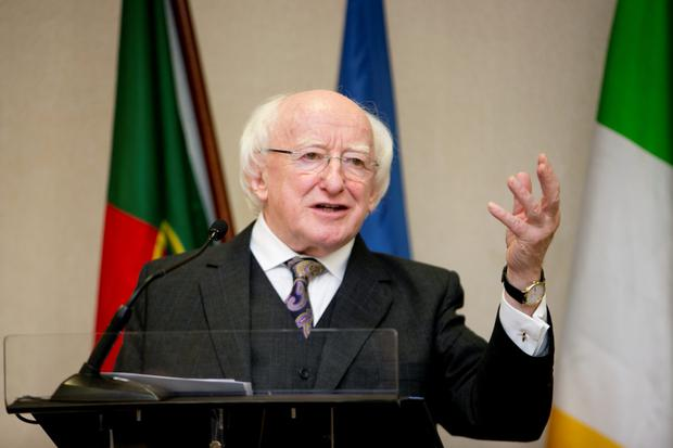 President Michael D Higgins (Photo: Fennell Photography)