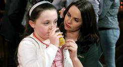 Fair City's Ellie with her mum Heather