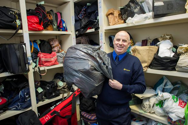 Lost Property worker Joe Elliot