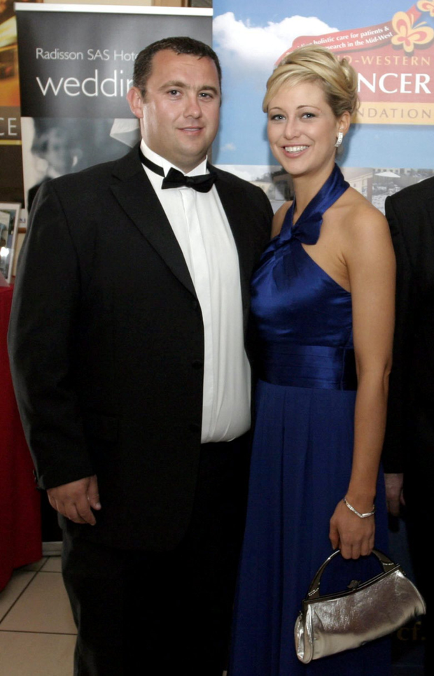 The late Jason Corbett with his second wife, Molly Martens. Photo: Brendan Gleeson