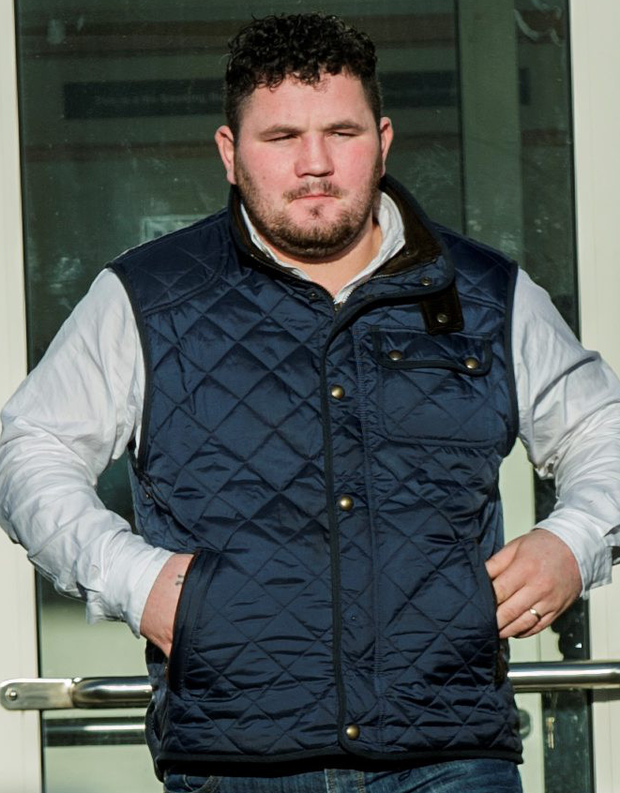 James Casey was charged with threatening behaviour Photo: www.doug.ie