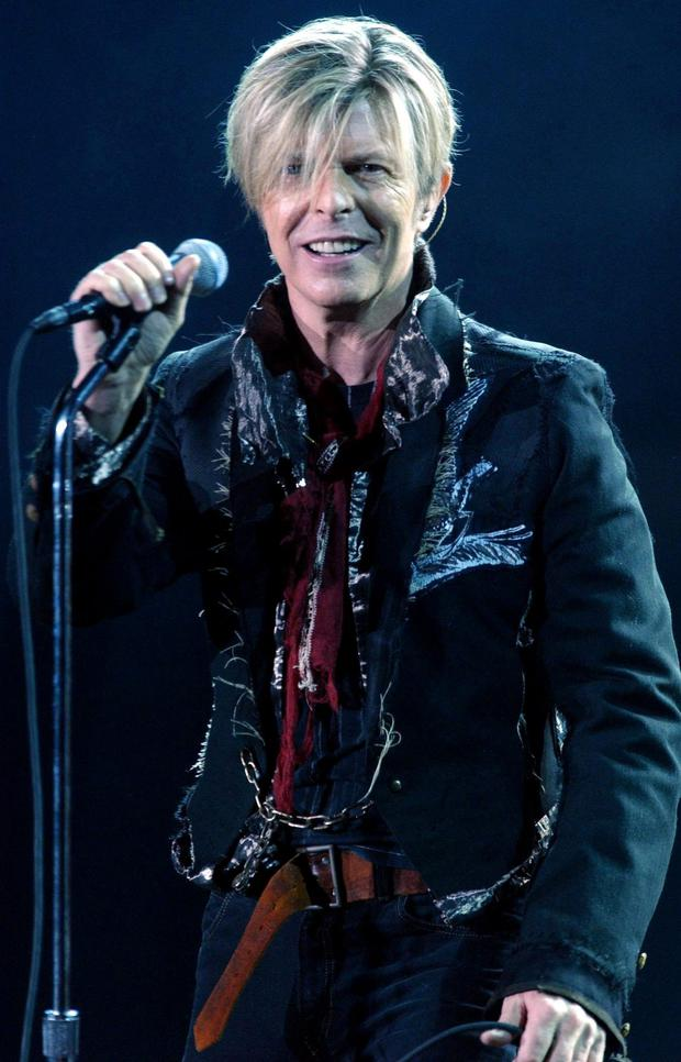 David Bowie. Photo credit: Andy Butterton/PA Wire
