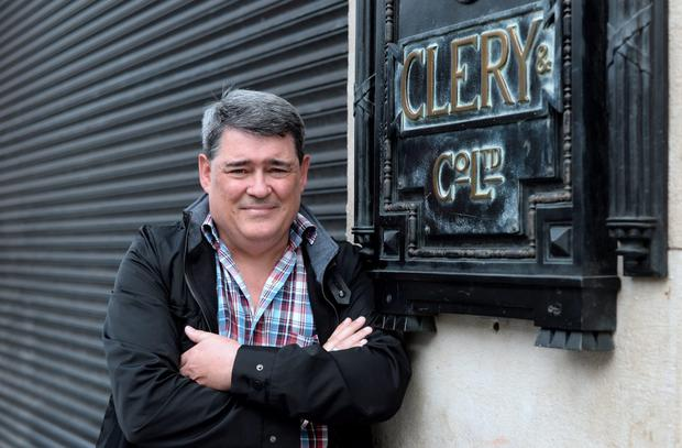 Former Clery's employee Gerry Markey