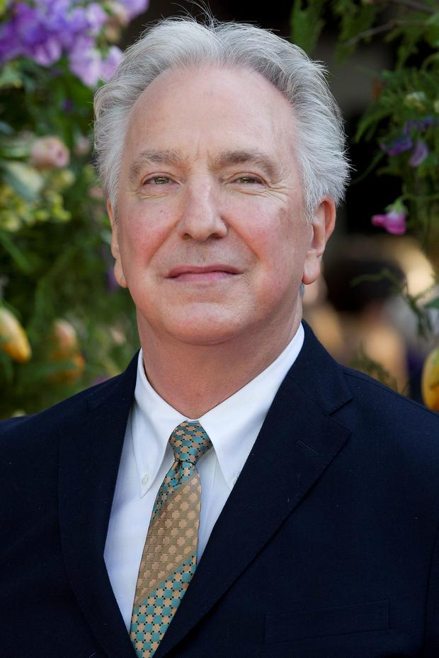 Alan Rickman, who died yesterday