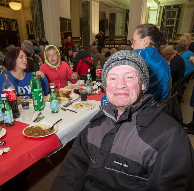 At the Dublin Lions Annual Dinner for the Homeless at the GPO was Shay West (C O'Riordan)