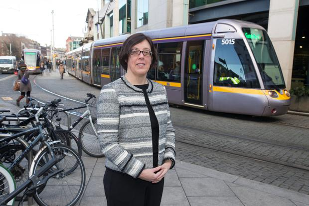 National Transport Authority CEO Anne Graham (Mark Condren)