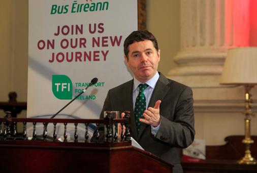 Minister Paschal Donohoe (Gareth Chaney/Collins)