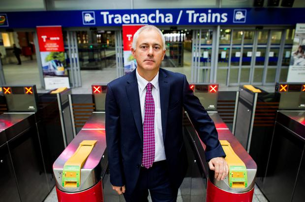 Barry Kenny of Irish Rail said there was an 8pc increase in Dart passengers in 2015