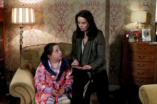 Fair City's Heather and daughter Ellie