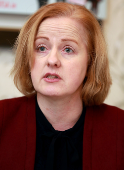 TD Ruth Coppinger Photo: Frank Mc Grath