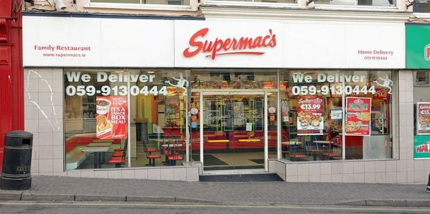 Irish favourite Supermac's