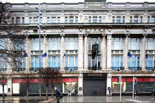 Clerys has also closed its doors for the final time (INM)