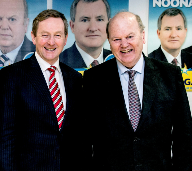 Taoiseach Enda Kenny and Finance Minister Michael Noonan