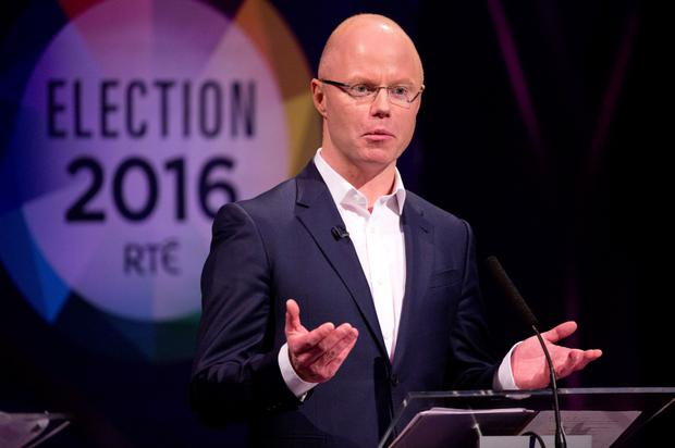Stephen Donnelly of the Social Democrats at the RTE debate