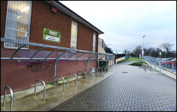The entrance to Shankill Dart Station (INM)