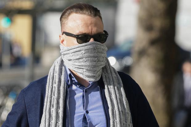 Jonathan Gill is accused of taking part in a tiger kidnapping (Courtpix)