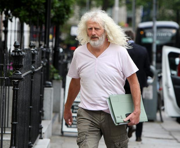 Wexford TD Mick Wallace wore a soccer top in the Dail (Tom Burke)