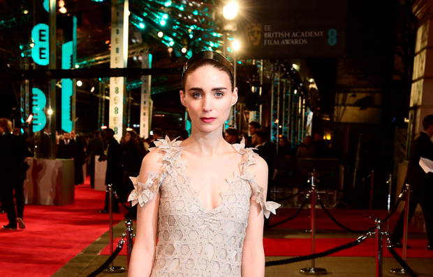 Rooney Mara at the Baftas in London (PA)