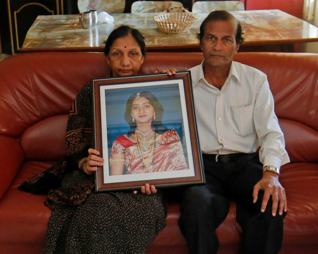 The parents of Savita Halappanavar have called on the government to apologise (Reuters)