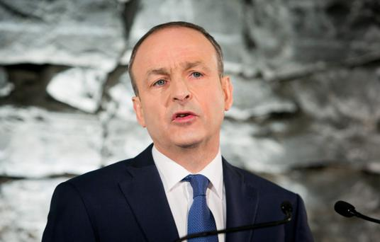 In their desperation, the people have not clutched merely at straws, they have clutched at Fianna Fáil. One thinks of the cartoon showing Micheál Martin in hypnotist mode telling his audience: 'When you wake up you will remember nothing'. Photo: Gareth Chaney