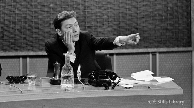Gay Byrne in The Late Late Show early days