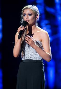 Team Rachel's Laura O'Connor. Photo: Voice of Ireland.