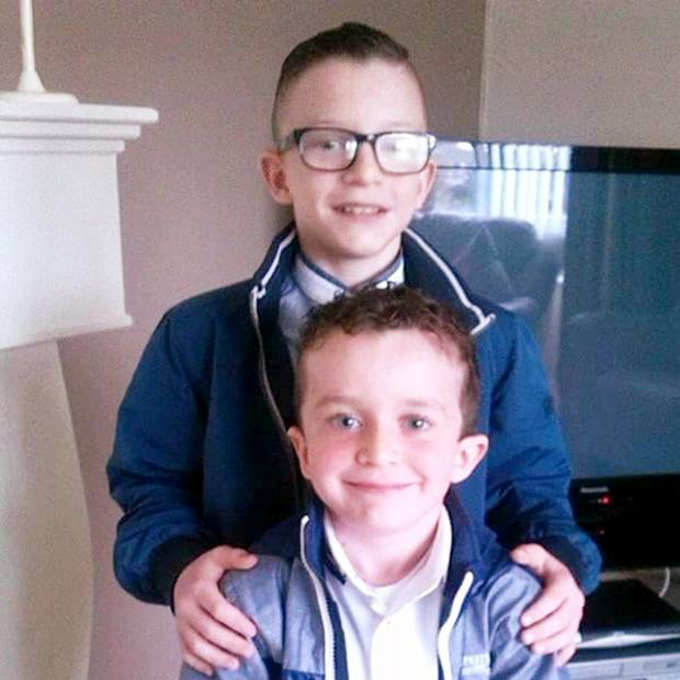 Mark (12) and Evan James (8) who died in Buncrana pier tragedy