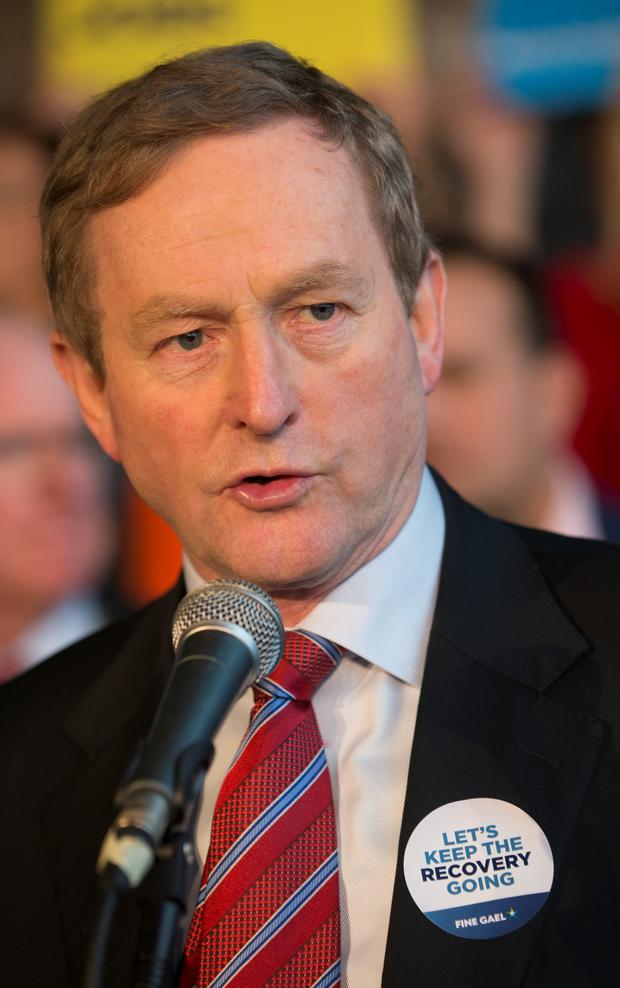 Acting Taoiseach Enda Kenny (Fergal Phillips)
