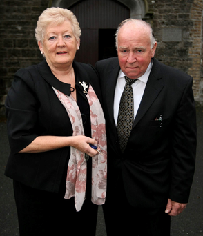 Rose and Jim Callaly