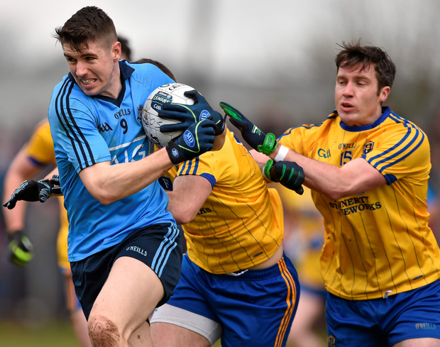 Dublin's Emmet O Conghaile in action against Roscommon Photo: Sportsfile