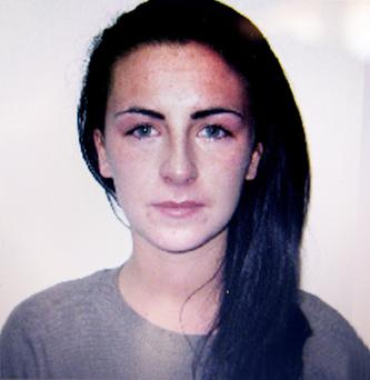 The previously unseen mugshot taken minutes after Michaella broke down in tears