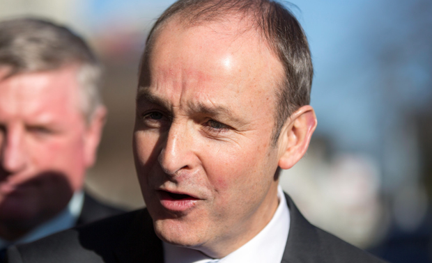 Micheal Martin (Pic: Mark Condren)