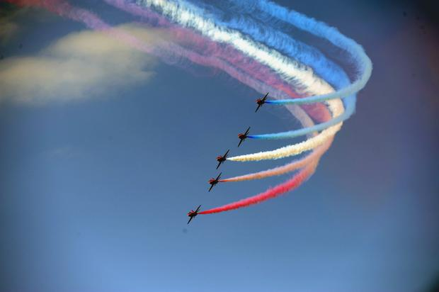 Bray will be the Red Arrows' only performance in Ireland this year (Andrew Downes)