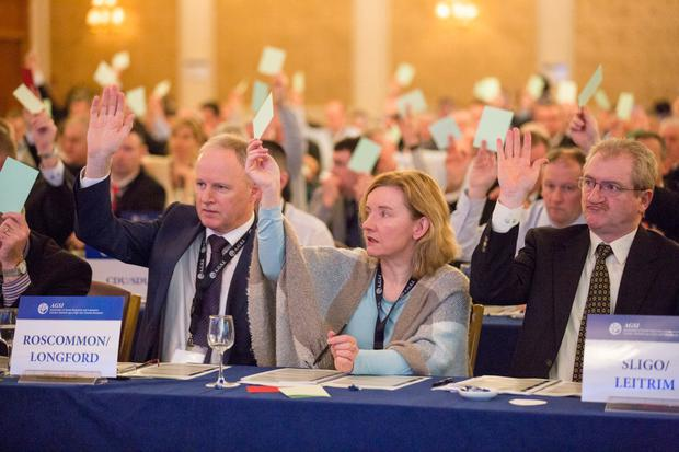Delegates at the AGSI conference (Keith Heneghan)