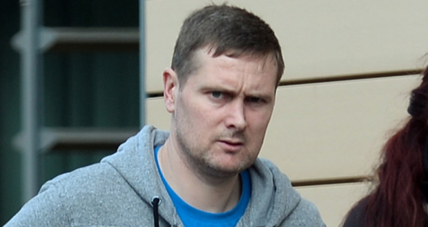 Karl Byrne (36) was drunk and abusive to gardai at Christmas