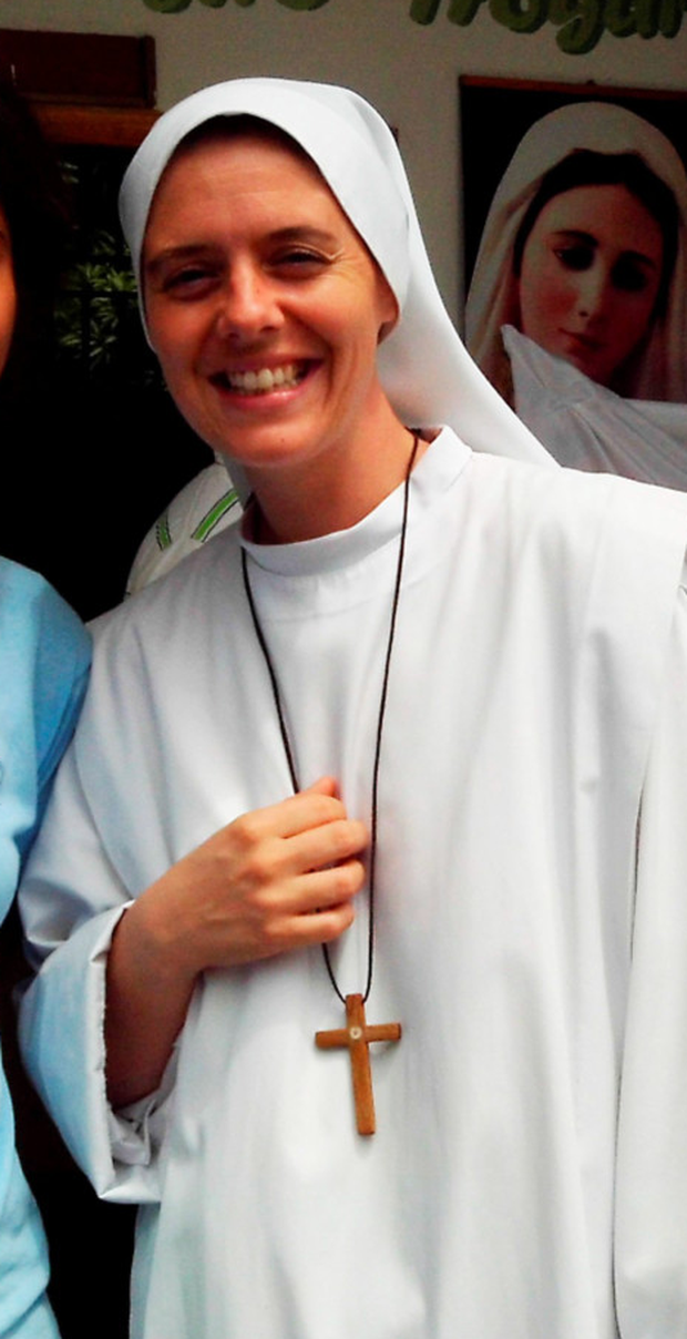 Sr Clare Crockett, who died in the Ecuador quake. Photo: PA