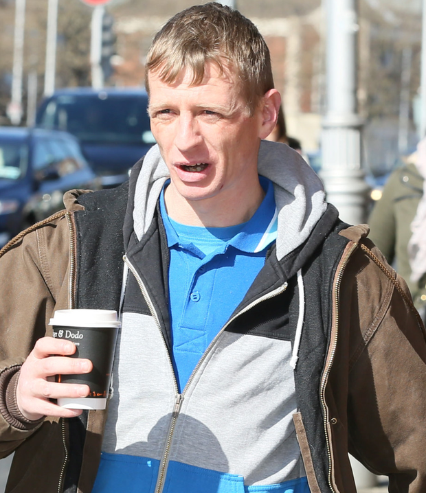 Gary Mulvaney was claiming disability allowance while living in Lanzarote Photo: Collins