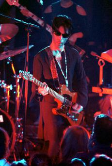 PRINCE IN SPIRIT MIDDLE ABBEY ST DUBLIN, PLAYING AT A PRIVATE CONCERT