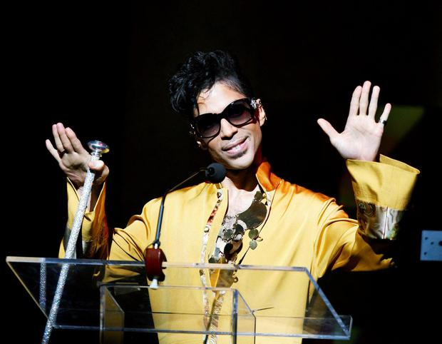 Music icon Prince in 2009. Photo: Lucas Jackson/Files/Reuters