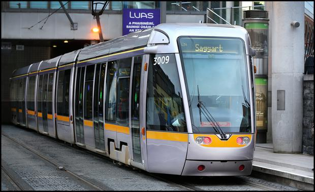 Safety issues on Luas tram have not been addressed